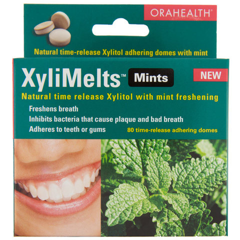 Xylimelts Time Release Xylitol For Dry Mouth 60 Domes Ebay